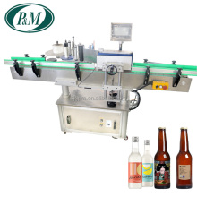 Automatic Round Bottle Adhesive Sticker Labeling Machine