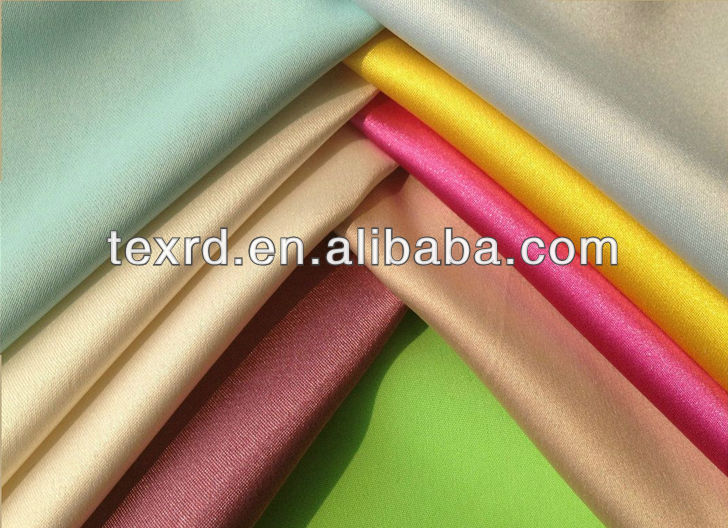 100% Polyester Satin Fabrics For Bedding