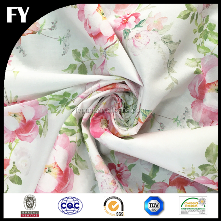 Custom digital printed fabric for making bed sheets