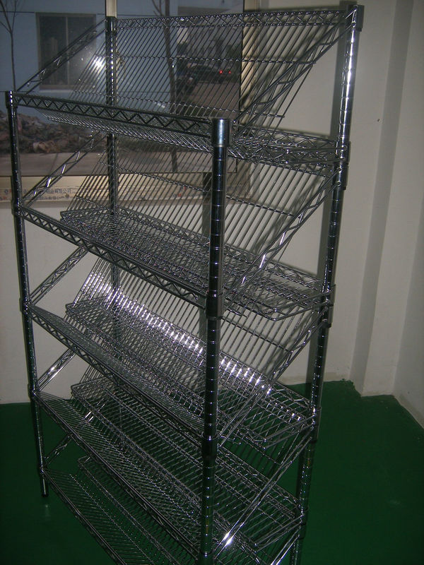 Restaurant Kitchen Metal Shelves wire shelving/restaurant kitchen stainless steel shelves/4 tiers