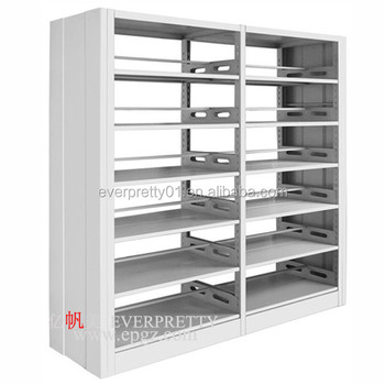 High Quality Library Furniture Wholesale Steel Book Shelf Strong Book Shelf for Sale