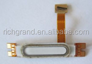 Main Home White Button Flex Cable for LG MS323 Optimus L70 Cell Phone Piece Part