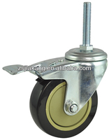 PVC screw in furniture casters