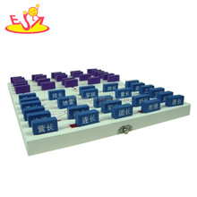 Wholesale educational chess game wooden chess set toy for childrens and adults W11A024