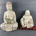 Home indoor decorative new resin material buddha figurine