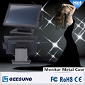 Full metal case stable tablet monitor with MSR/15 inch touch monitor