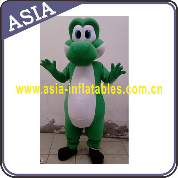 Competitive price adult dragon mascot costume, hot animal mascot costume for advertising