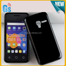 Jelly Soft Gel TPU Case For Alcatel One Touch PIXI 3 (4.5) OT-4027N 4027N Cover