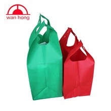 eco friendly pictures printing non woven shopping tote vest bag