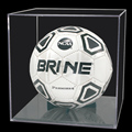 hot sale custom squar acrylic dispaly case clear soccer ball display case