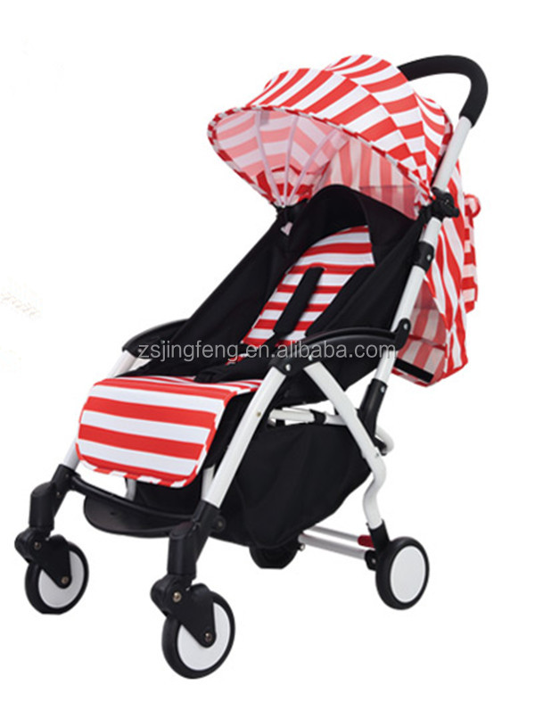 Light Weight Aluminum Alloy Material China Baby Stroller Manufacturer With EN1888 Certification