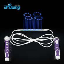 Outdoor fitness equipment air count led jump rope skipping