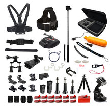WIFI Action Camera Gopros Accessory Kit for AKASO EK5000 EK7000 4K Go pro Heros 6 5 5S Heros 4 3+ sjcam Accessories