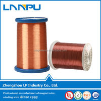 ul approved polyester-imide insulation winding enameled copper clad aluminum cca wires