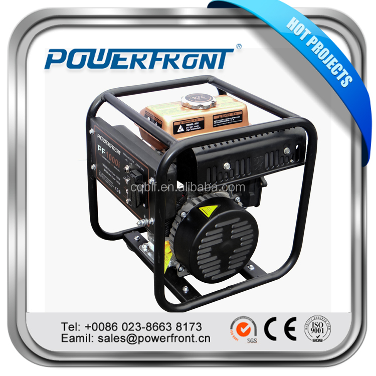 High Quality PF1000i 1kva portable digital inverter gasoline generator with low weight