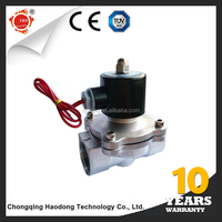 Wholesale high-grade 304 stainless steel 2 way gas solenoid valve 220v ac