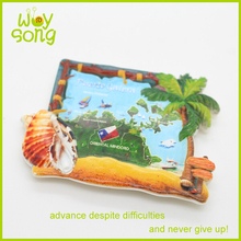 High quality Polyresin fridge magnets, polystone magnet souvenirs