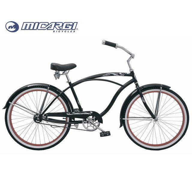 Micargi 26 inch single speed chopper cruiser bicycle TAHITI retro bike