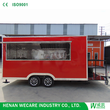 Top selling popular fiberglass enclosed trailers Food carts