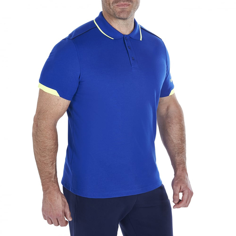 Wholesale mens cotton polo shirts with customized logo embroidery shirts for men polo