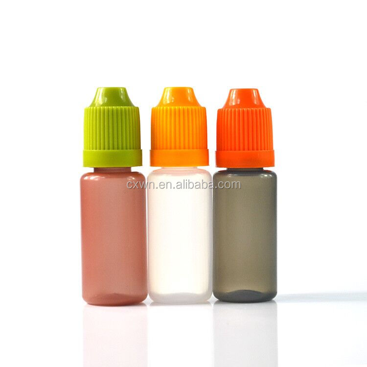 Chinese supplier PE Ldpe plastic lotion squeeze bottle with child proof cap in stock