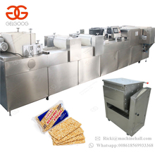 CE Approved Automatic Sesame Candy Making Machine Peanut Brittle Cutting Machine