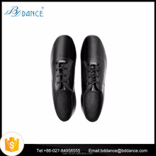 Boys Kids Black Ballroom Latin Tango Jazz Dance Shoes Model 702