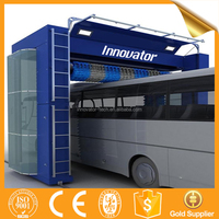 Automatic roll over truck bus steam car wash machine with CE IT966