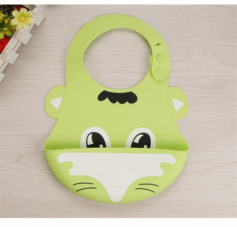 High quality factory wholesale FDA food grade baby bibs for kids silicone baby bibs bpa free