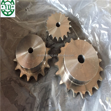 stainless steel linked chain wheel sprocket 12B1-Z19 12B1-Z15 08B1-Z17