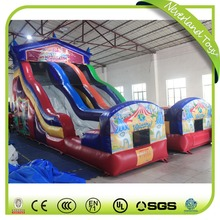 Hot selling customized carnival slide inflatable slide for sale