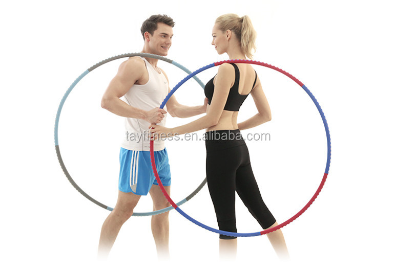 New Fashion Fitness Home Use Hula Hoop Ring With Foam