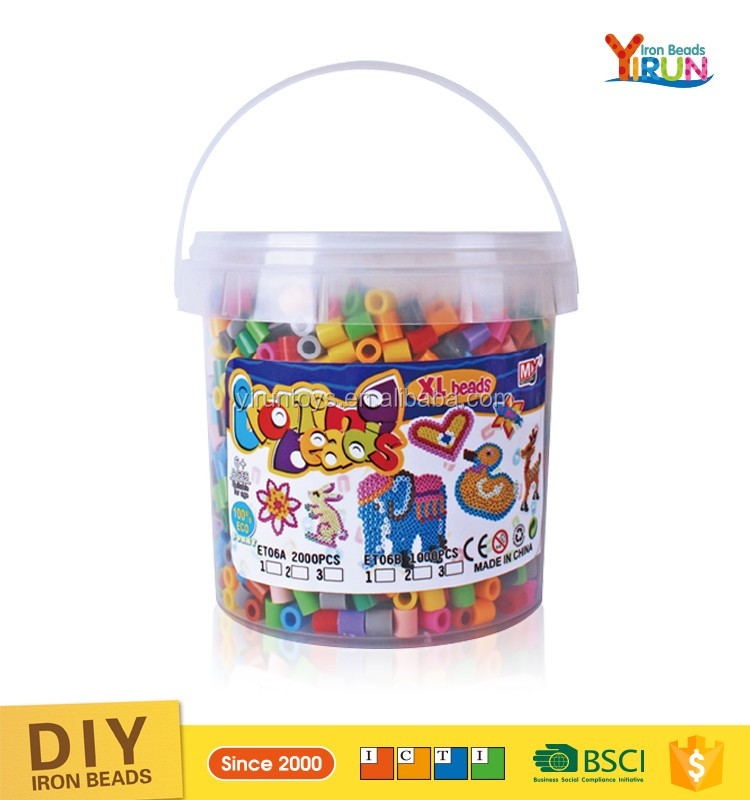 Direct Selling DIY series toys educational kit fused Beads Toy 10mm hama beads