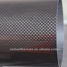 3k large diameter carbon fiber tube, carbon fiber tube100mm