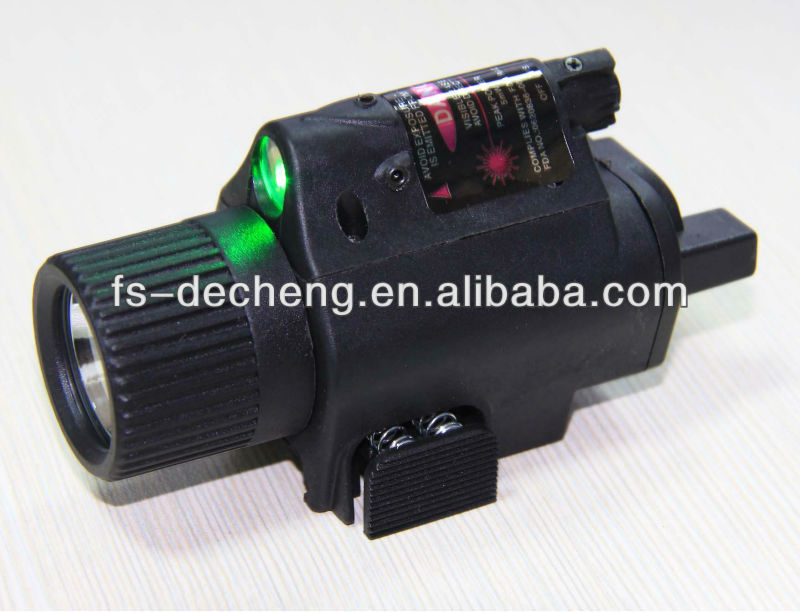 1016 LED plastic/metal with twinkle green/red laser