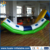 2017 funny inflatable floating water totter for water games