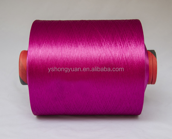 100D doped dyed polyester DTY yarn