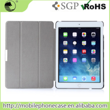 Factory Supplier Super Slim Simple Design PU Flip Tablet Case For iPad Air 2 Case