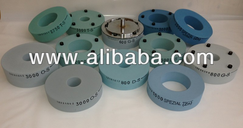 polishing grinding stone for gravure cylinder - qick release lock