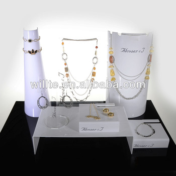StorIt Necklace And Bracelet Storage Case - Jewellery Organiser Box Holder