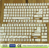 Shining Keyboard sticker glow in the dark
