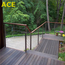Wroght Iron Railing Used / Outdoor Stair Rail / Cheap Deck Railings
