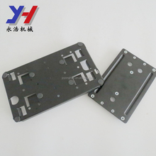 OEM ODM factory manufacture SGS ISO ROHS precision stamping part monitor mounting bracket with adhesive foam pad as drawing