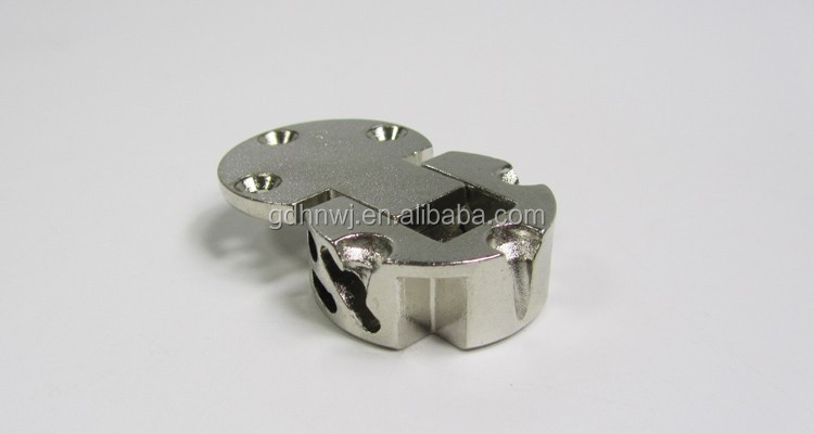 Zinc alloy back flap hinge for table