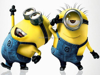 Best Selling Dancing Despicable Me Minion Mascot Costume For Adult
