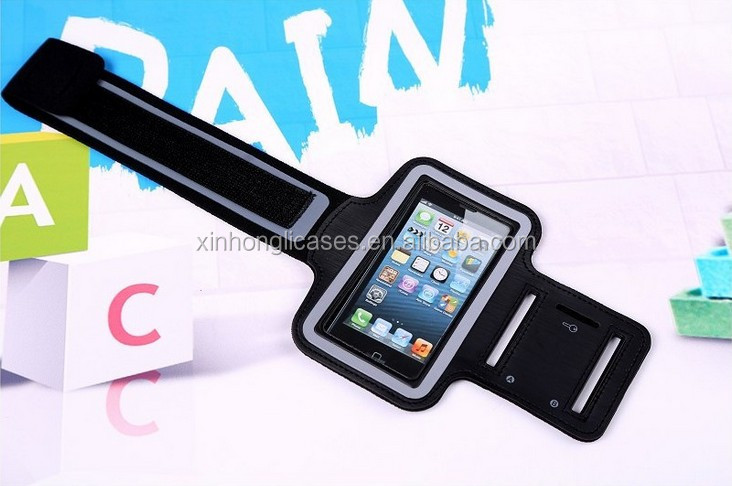High quality sports armband phone case cover for iphone, running case cover