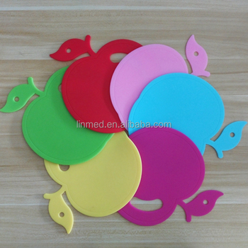 Custom Silicone Coffee Cup Flat Mat Coaster Heat Resistant Mat