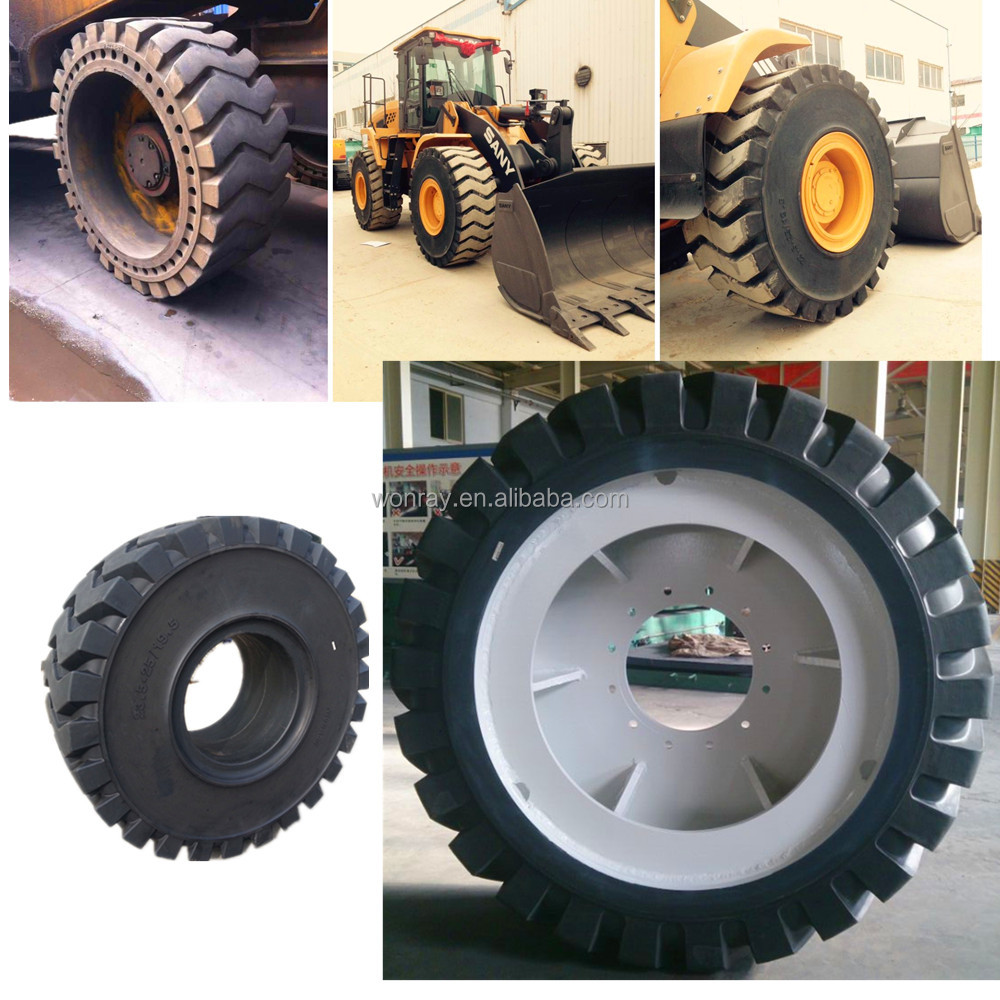 hot sale made in China solid rubber tire 20.5-25 loader tires truck tire