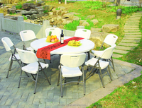outdoor and indoor multi use banquet round table