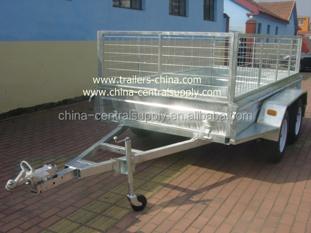 Tandem Box trailer CT0080E-1